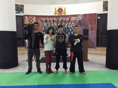VĐV Muay Thái thử sức cùng côn nhị khúc của Triệt Quyền Đạo VN trên Thể thao TV