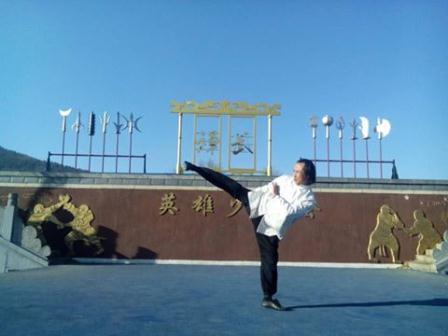 Chủ nhiệm võ phái Triệt Quyền Đạo Việt Nam giao lưu võ thuật tại Trung Quốc
