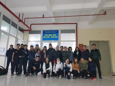 Võ phái Triệt Quyền Đạo VN tham gia ngày hội sinh viên tại trường ĐH SPHN