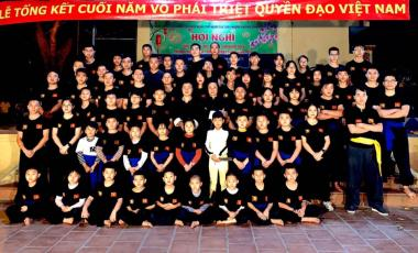 Võ phái Triệt Quyền Đạo Việt Nam tổ chức buổi lễ tổng kết năm 2019 và chào xuân 2020