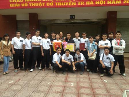 Thông báo tham dự Giải Võ Thuật Cổ Truyền Hà Nội Mở Rộng