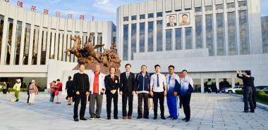 Võ sư Bùi Trọng Quốc Quân tham dự đại hội võ thuật tăng cường quan hệ Việt - Triều tại Bình Nhưỡng